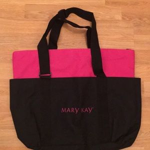 Mary Kay tote bag two colors a lot of pockets